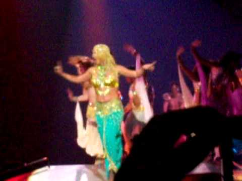 Britney Spears Me Against The Music Live in Minneapolis