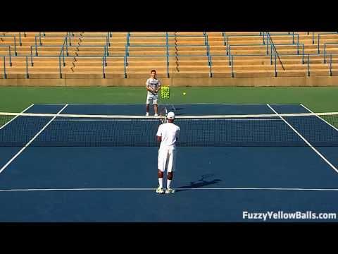 Practicing Modern Tennis Footwork