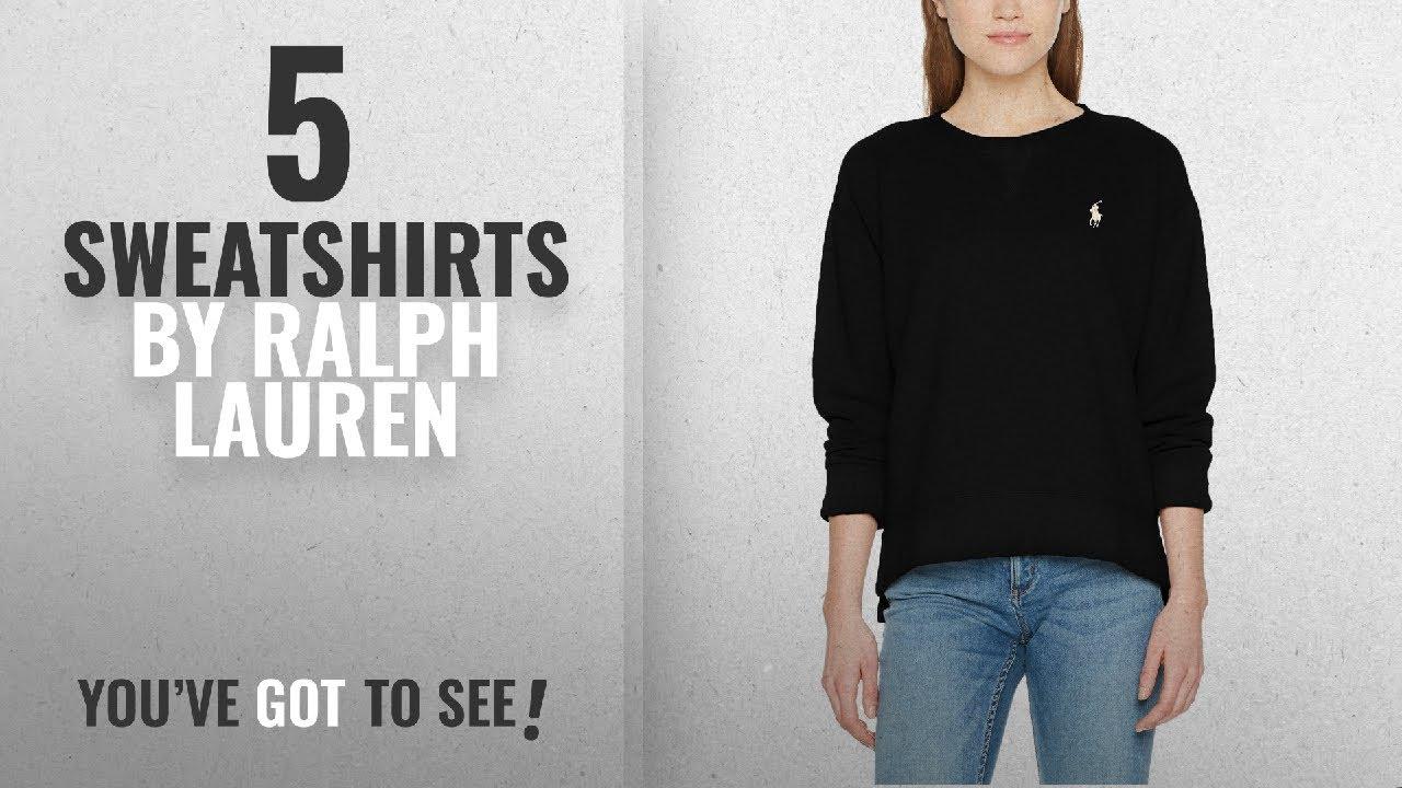 Top 10 Ralph Lauren Sweatshirts  2018   Polo Ralph Lauren Women s CN ... ba914840655