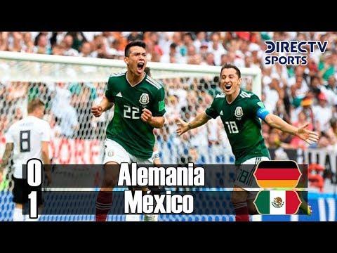 Alemania Vs Mexico 0-1 (Grupo F) Resumen Mundial Rusia 2018 DirecTV Sports