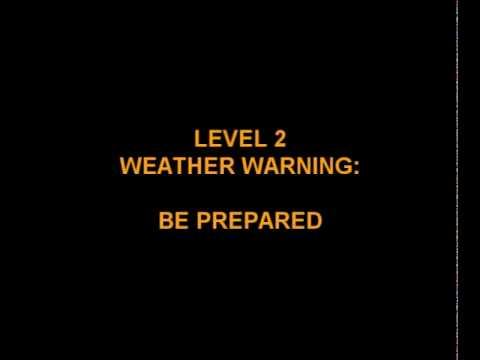 WEATHER WARNING: Highlands & Eilean Siar - 29/11/10