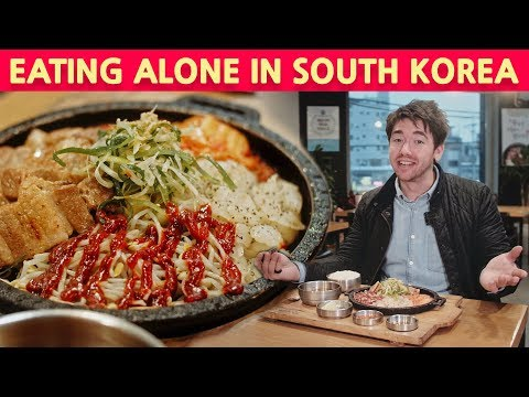 Eating ALONE In Korea : Samgyeopsal (Korean BBQ Pork Belly)