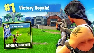 Playing The Original Fortnite in 2018