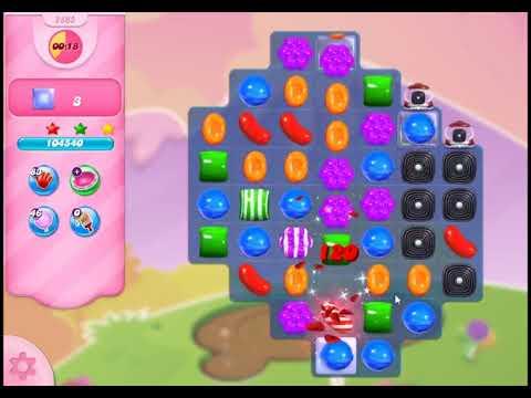 Candy Crush Saga Level 2865 - NO BOOSTERS