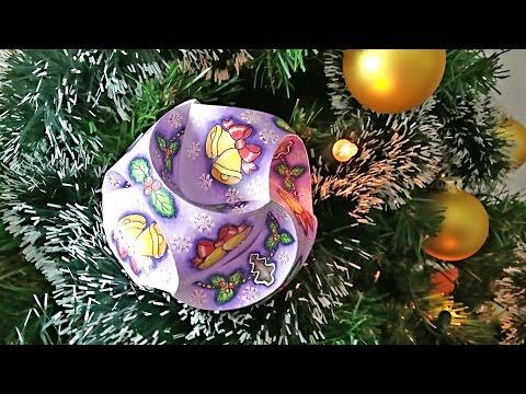 Hattifant - CHRISTMAS Triskele Paper Globe: COLORED