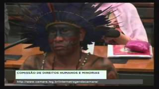 EDUARDO BOLSONARO FALA VERDADES A ÍNDIOS DO CONFLITO DE MATO GROSSO DO SUL