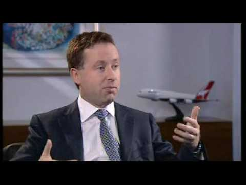Alan Joyce, Qantas CEO, on Inside Business