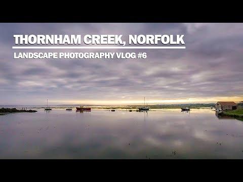 Thornham Creek, Norfolk - Landscape Photography Vlog #6