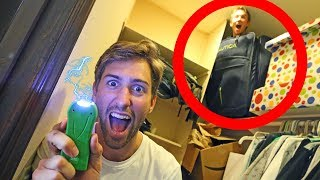 HIDE AND SEEK WITH TASER! (if found, shocked) FUNK BROS HOUSE