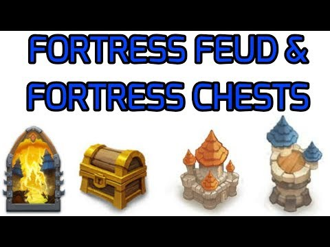 Castle Clash Fortress Feud & Fortress Chests