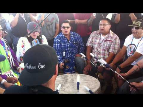 Northern Cree & Wild Band of Comanches - Sunday @ Red Mountain Eagle Powwow 2011
