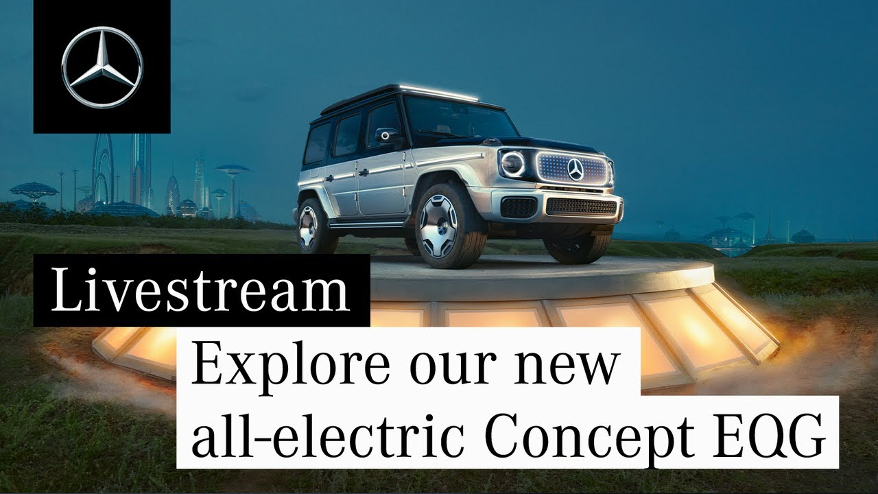 Explore our new all-electric Concept EQG
