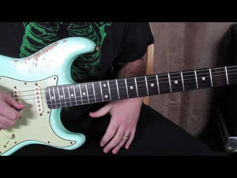 Blues Guitar Soloing Lesson - Adding the major 3rd to your blues scale - marty Schwartz