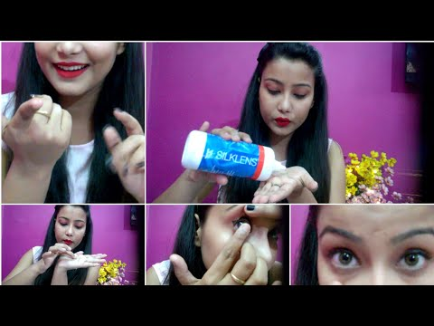 How to wear and remove contact lenses in correct way 😄