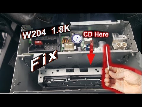 how to fix cd player in car