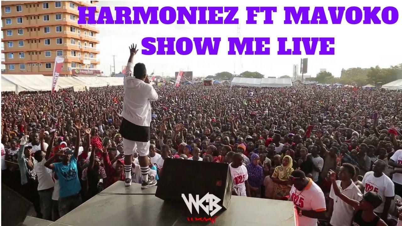 Download RICH MAVOKO ft HARMONIZE SHOW ME  WASAFI SHOW 2017