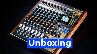 Tascam Model 12 Unboxing
