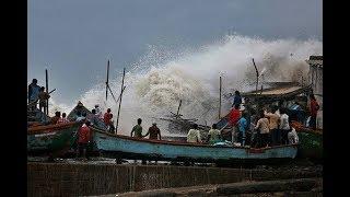 """क्या टल गया गुजरात में तूफान """"वायु"""" का खतरा?"""