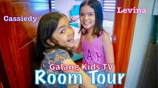 Gambar cover Levina and Cassiedy Galang's Room Tour, Vlog #1