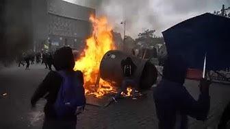 Gilets Jaunes : anniversaire violent à Paris