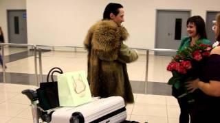 Johnny Weir Moscow Sheremetyevo 3.XI.2012