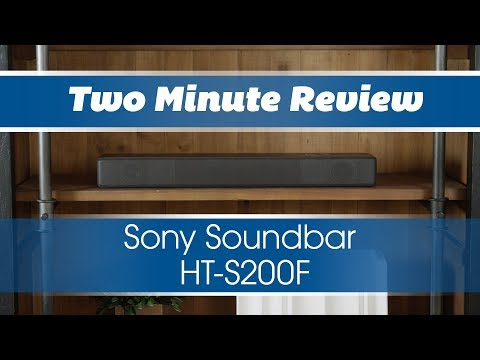 Two Minute Review: Sony HTS200F Soundbar
