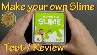 "Slime-Review/Test: ""Make your own Slime"" vom Müller Drogeriemarkt"