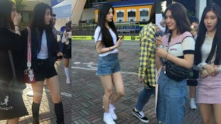 JYP New Girl Group with Somi Spotted at Twice Concert 19052018