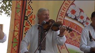 Троїсті музики с. Спас Горішнє на фестивалі гуцулів в Коломиї 2017