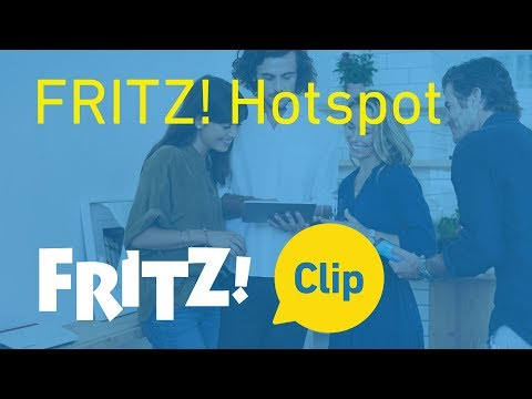 FRITZ! Clip – FRITZ! Hotspot: la zona de acceso WiFi para tus invitados