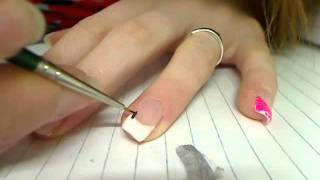 Nail Art. - Vlindertje