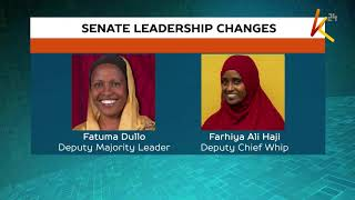 Senate leadership changes