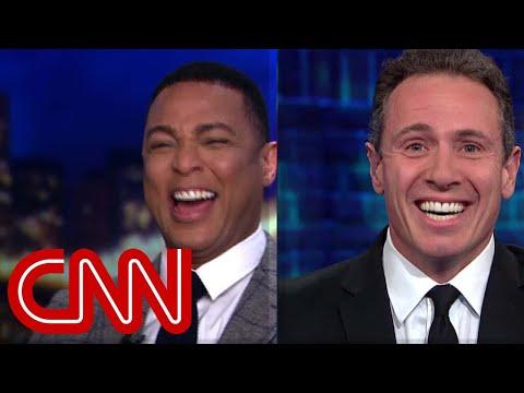 'Lasagna of lies' Trump analogy cracks Don Lemon up