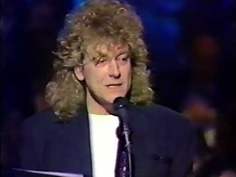 Robert Plant The Brit Awards 1987 (Dire Straits)