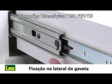 Telescópica com amortecedor, TT50, FGVTN - YouTube