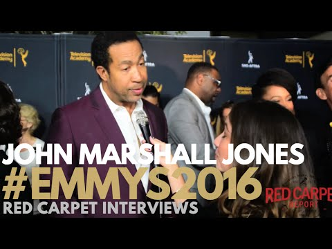 John Marshall Jones #Bosch interviewed at 4th Dynamic & Diverse Celebration #Emmys #SAGAFTRA