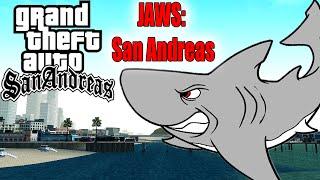 TUBARÕES ASSASSINOS DE LOS SANTOS - GTA San Andreas (MOD JAWS: San Andreas)