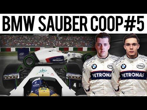 F1 2017 Mod BMW Sauber Coop #5 | JAPAN | CONTACT!
