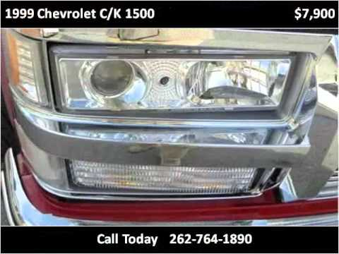 1999 Chevrolet C/K 1500 Used Cars Kenosha WI