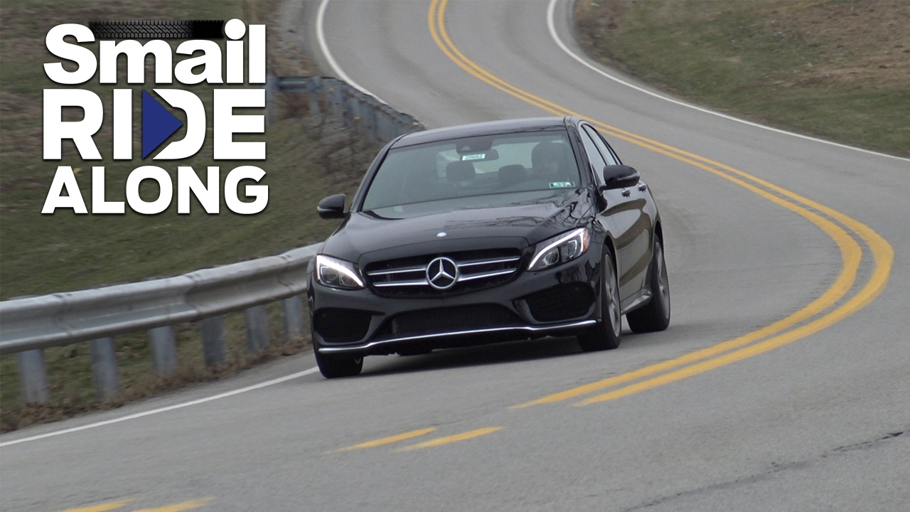 2017 Mercedes Benz C Class C 300 4matic Sedan Smail Ride Along Review And Test Drive