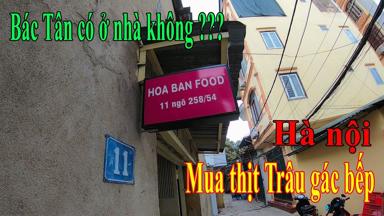 Hàng trình mua 1kg Thịt trâu gác bếp của Bác Tân Hoabanfood về ăn Tết 2019