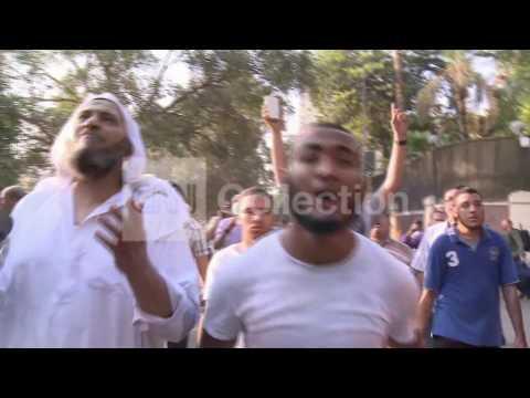 EGYPT:CAIRO CLASHES