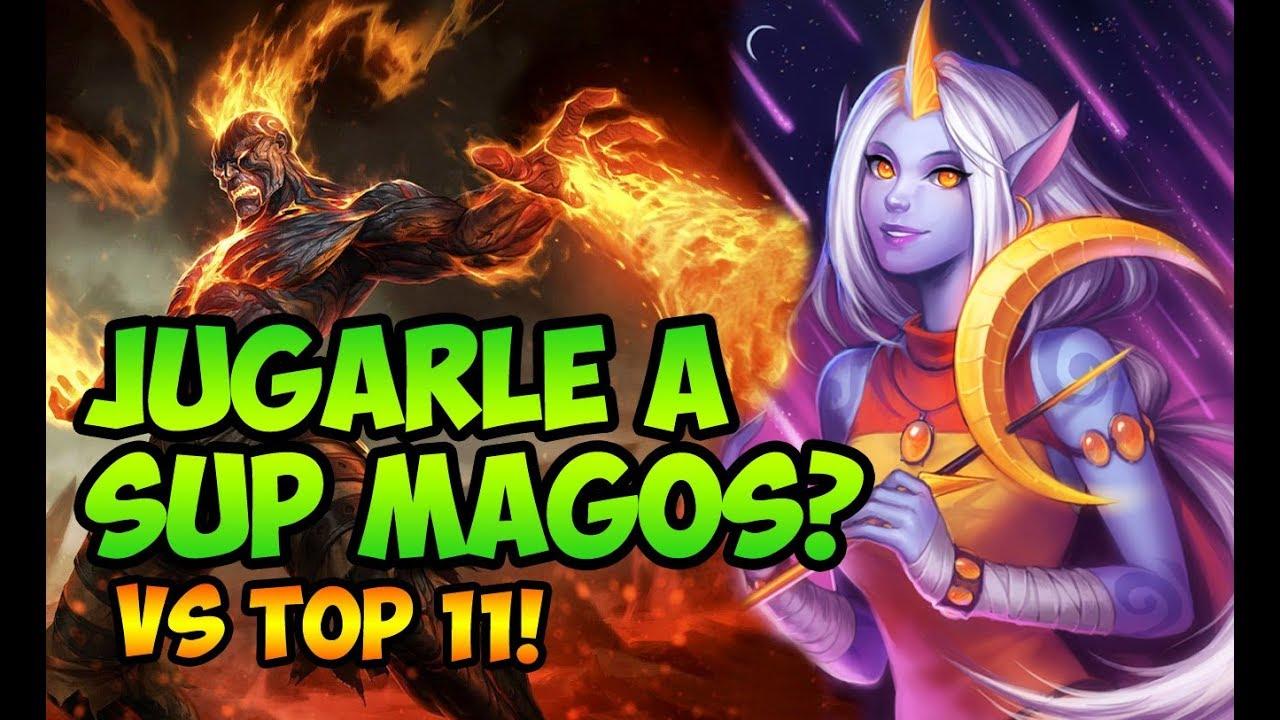 ⭐COMO JUGARLE A SUPS MAGOS?⭐ CONTRA EL TOP 11 DEL SERVER! - YouTube