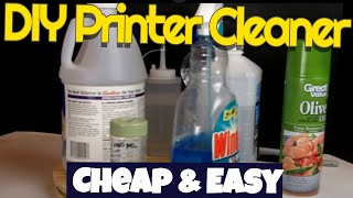 DIY Inkjet print head cleaner,simple,cheap,effective(I make my own inkjet print head cleaner. The formula is quite simple. A while back I had a printer that did not respond to my usual cleaning methods and I came ..., 2014-08-18T15:48:42.000Z)