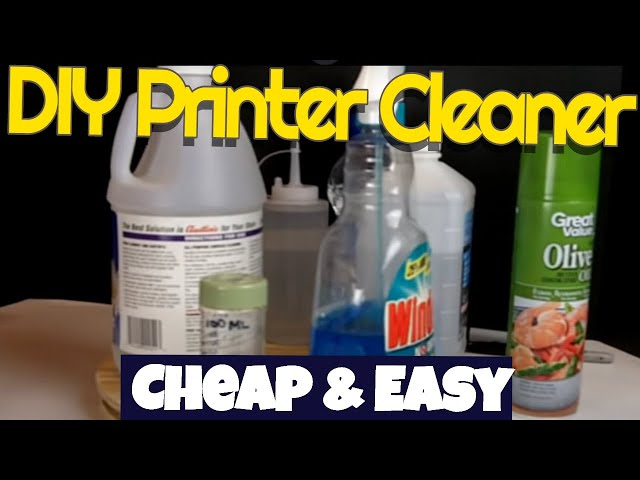 Robb Reviews DIY Inkjet print head cleaner,simple,cheap,effective