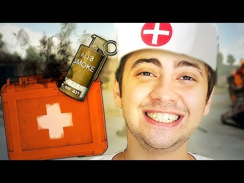 O MÉDICO DA FUMAÇA! - PLAYERUNKNOWNS BATTLEGROUNDS