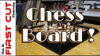 Plywood Chess Board - For The Kids #6