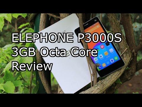 "Elephone P3000S 3GB Review  - MTK6752 - 3GB/16GB - 5.0"" FHD - 4G LTE - 4.4.4 - 3150mAH [HD]"