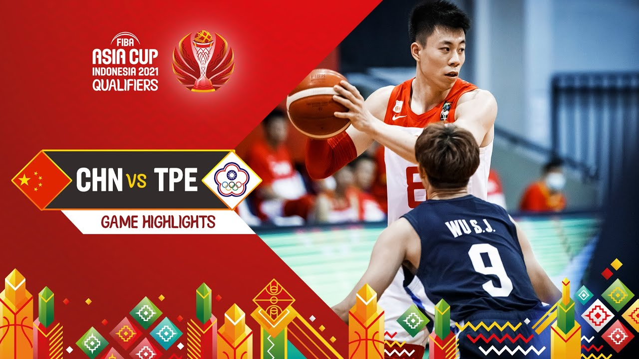 China - Chinese Taipei | Highlights - FIBA Asia Cup 2021 Qualifiers