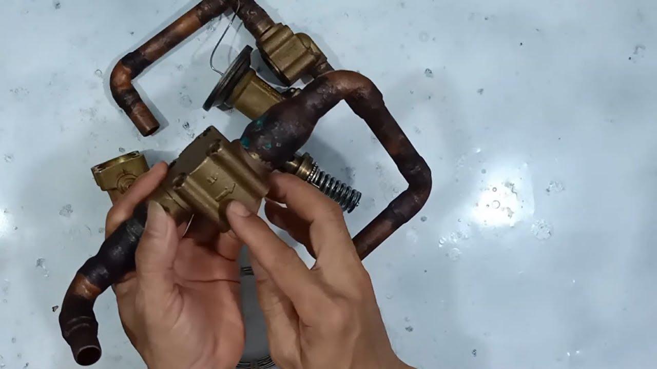 Cấu tạo và cách lắp van tiết lưu, nghề điện lạnh. đstv